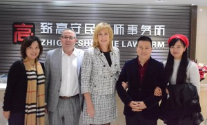 Noelene Merrey and Luo Jun, Partner, ZhiGao ShowMe Law firm, Chengdu China